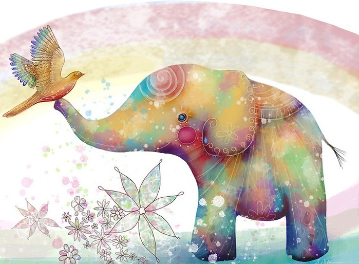 удалось слоники на счастье картинки проезд