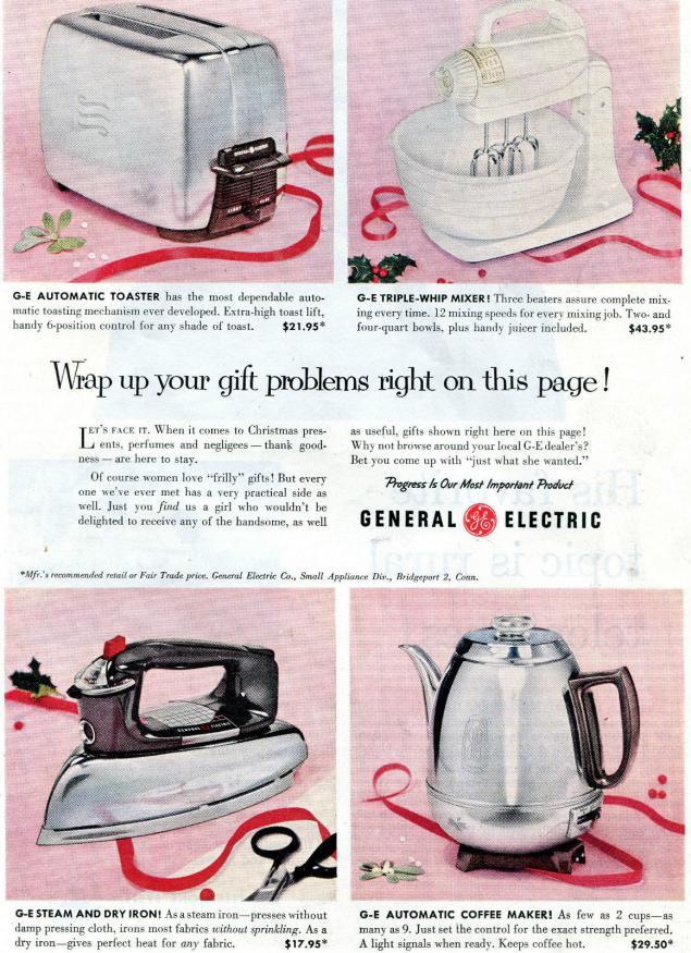 Новогодняя реклама Vintage/1951 -1956 включительно, фото № 36