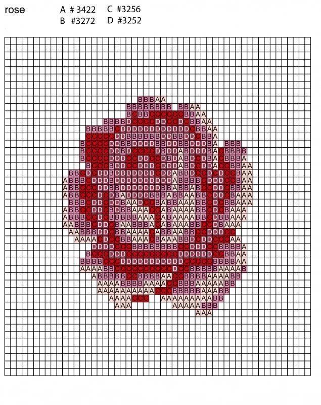 Вышивка крестом кулоны схемы