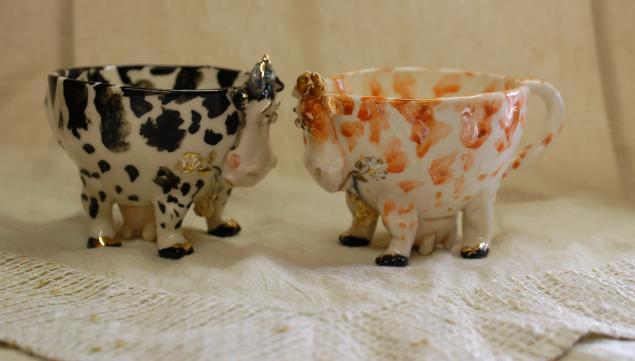чашки в форме животных