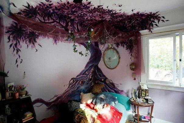 Дерево для в интерьере своими руками