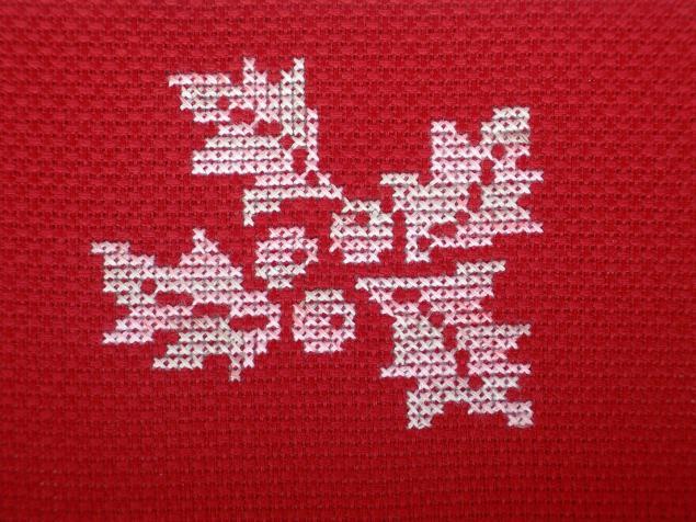 мулине, вышивка ручная