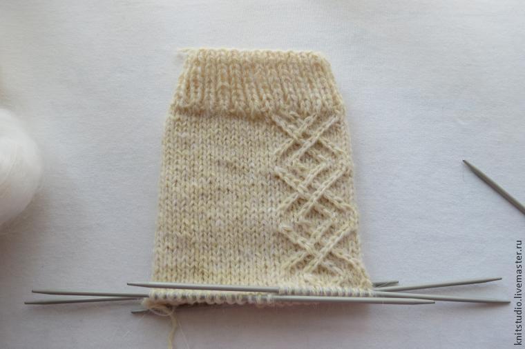 мк по вязанию носков