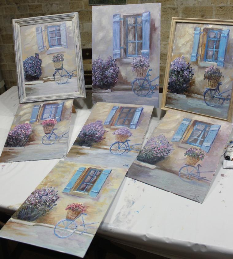 уроки живописи, мастер-класс, живопись для начинающих, рисование для начинающих, рисование для детей, картина тоскана, итальянский пейзаж, рисование маслом, рисование москва