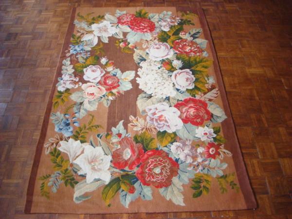 Викторианский ковер. Вышивка