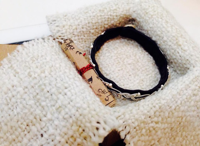 скандинавский браслет, маша рупасова