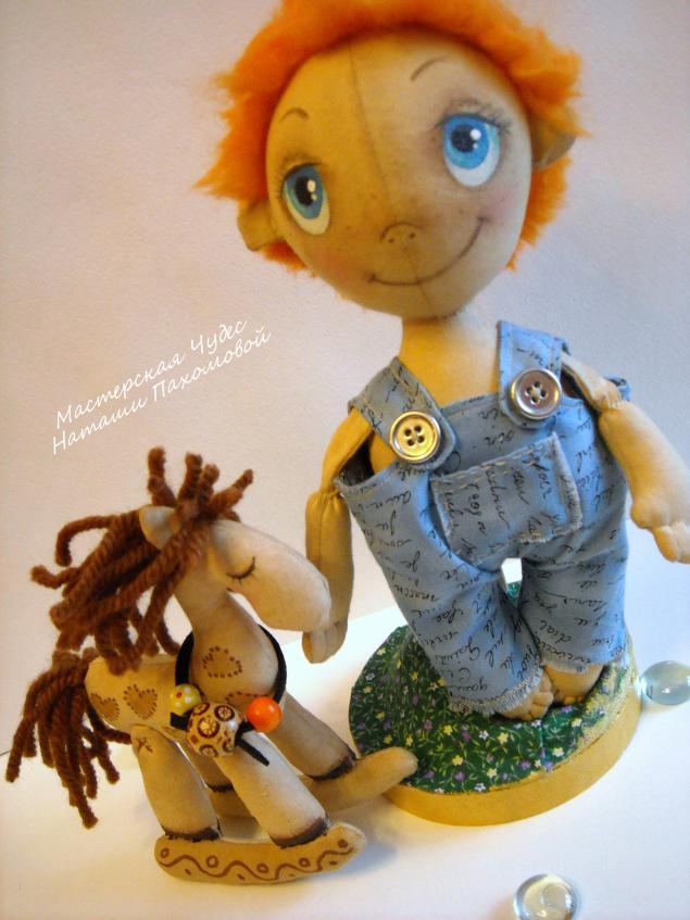 мк по тыквоголовой кукле, мастер-класс, кукла тыковка