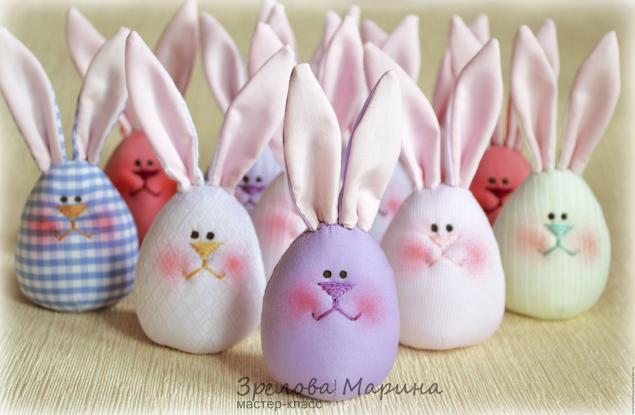 Как сделать кролика из яйца фото 690