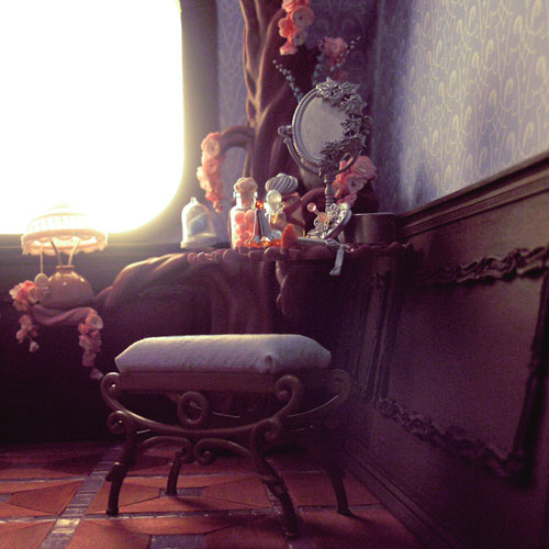 Невероятные кукольные домики и интерьеры Hila Rosenberg. Часть 2, фото № 28