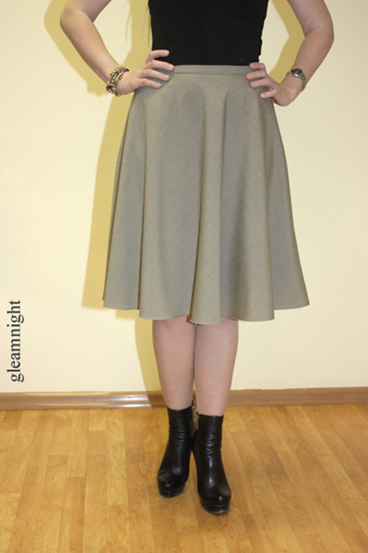 юбка, готическая юбка
