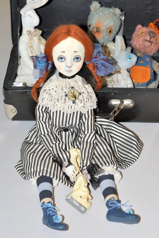слепить куклу, кукла своими руками, кукольная школа, кукольные курсы, куклы ру, лепка из пластики