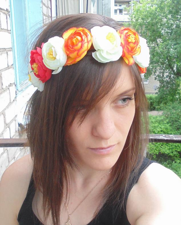 венки с цветами