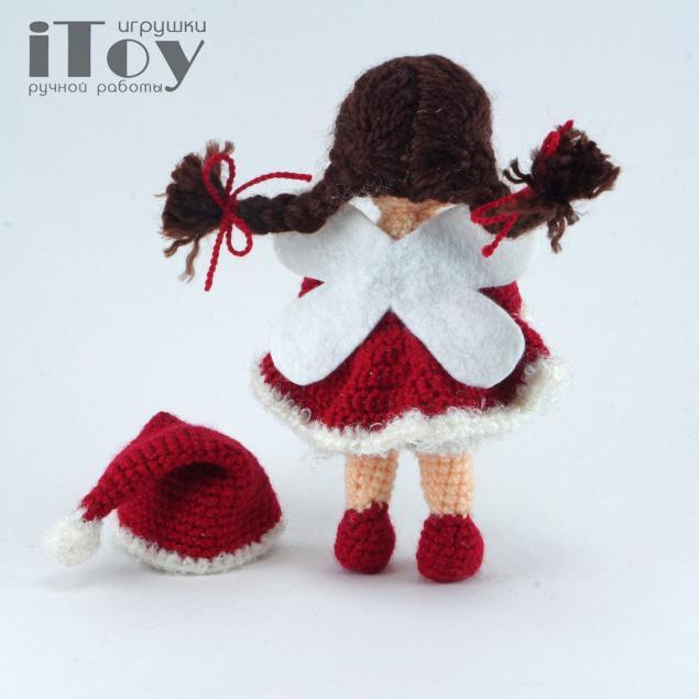 игрушка фея, кукла фея, рождество