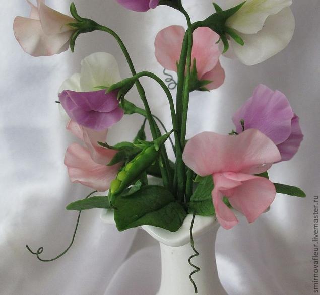 Новинка нашей студии - керамическая флористика (цветы из холодного фарфора) -Подснежники!, фото № 4