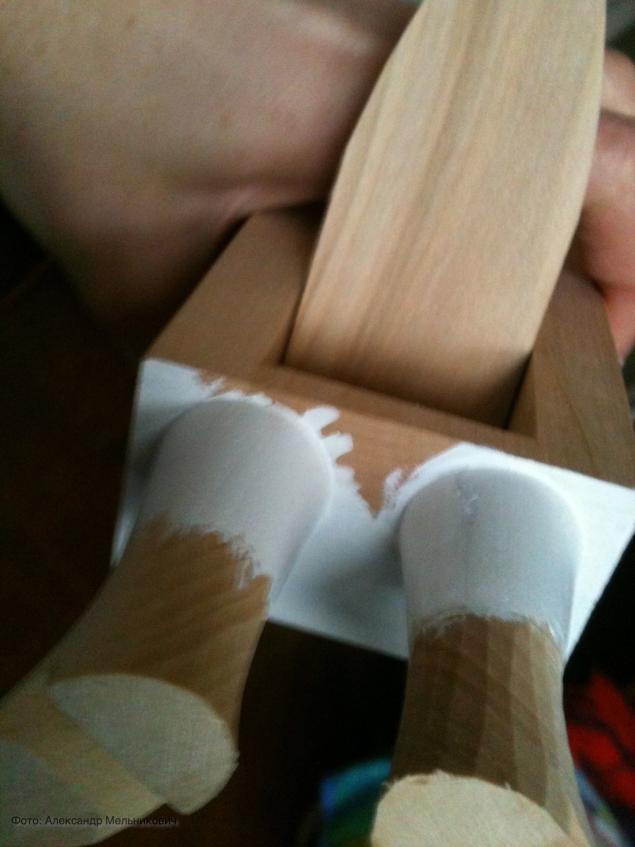 деревянный щелкунчик