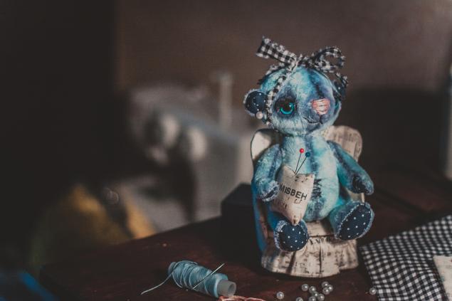 мишка-тедди, творчество