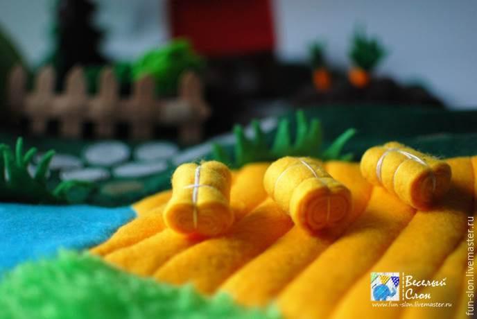 Шьем яркий и реалистичный игровой коврик из фетра, фото № 49