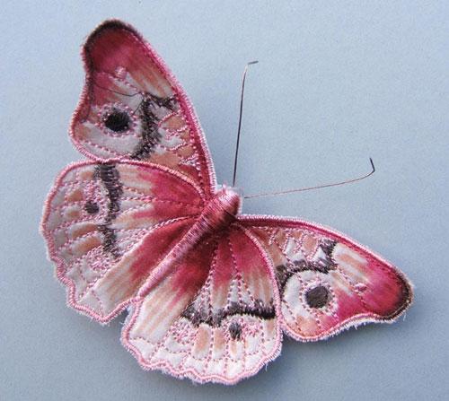 Текстильные шедевры, или Бабочки как источник вдохновения, фото № 15