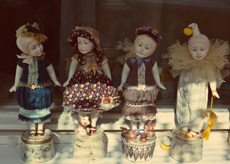 выставка-продажа, фарфор, фарфоровая кукла, авторская кукла