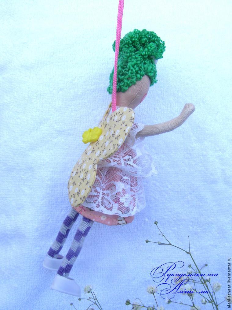 Мастерим куклу-подвеску «Бабочка» по мотивам Лалалупси, фото № 30