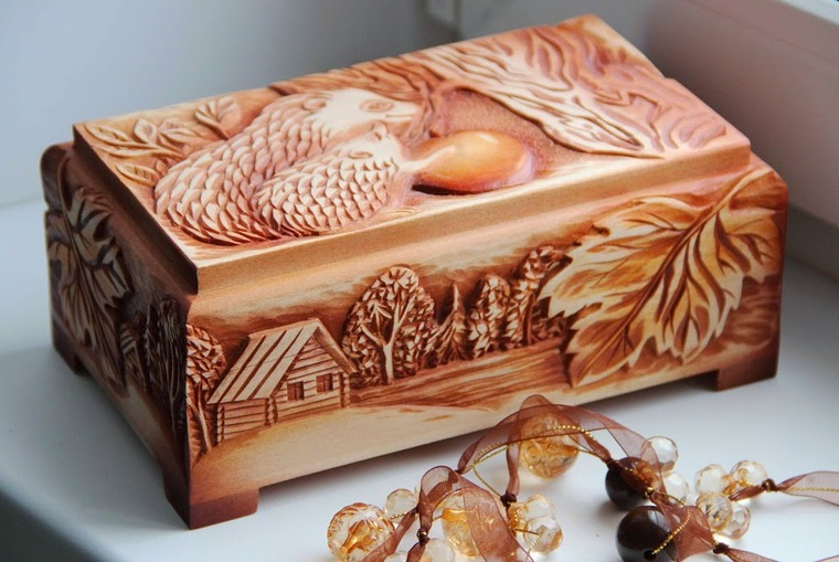 шкатулки, древесина