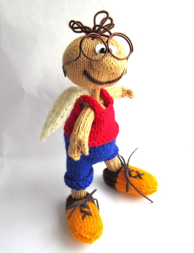 новая работа, вязаная игрушка, игрушка ручной работы, сказочный персонаж