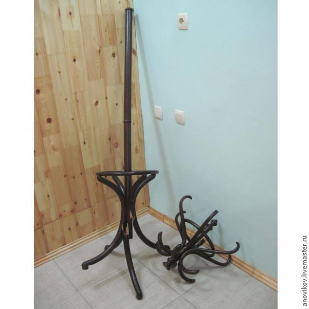 ремонт деревянной вешалки