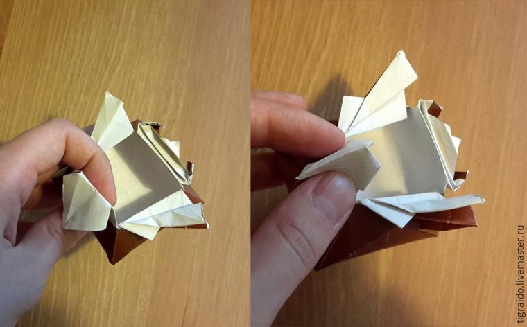 Оригами: пасхальная курочка, фото № 22