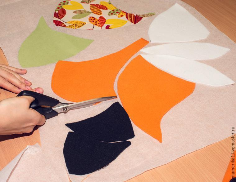 подушка-лисичка