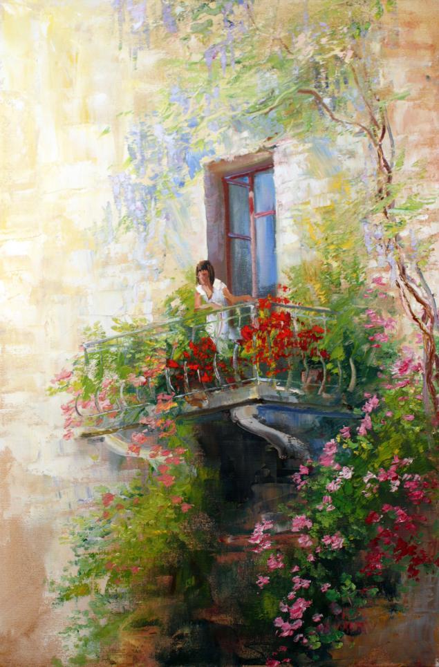 Японская живопись мастер класс поделка #11
