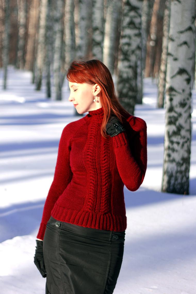 свитер вязаный, купить свитер