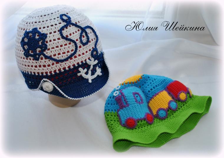 кепочка крючком, ажур крючком, шляпка с полями, панама летняя, вязание на заказ