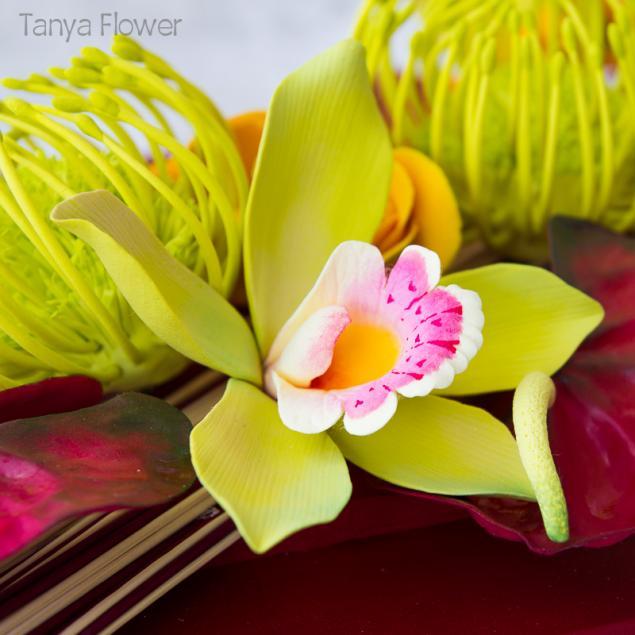 цветочное панно, интерьерная композиция, оформление дома