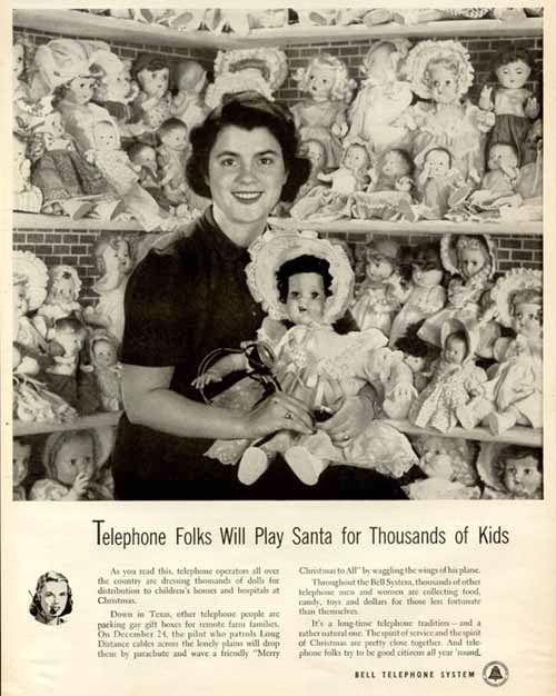 Новогодняя реклама Vintage/1951 -1956 включительно, фото № 9