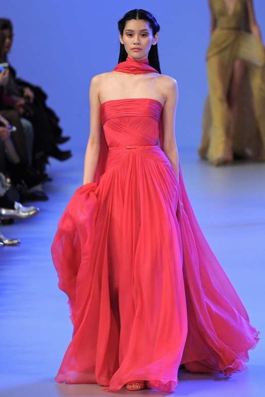 Elie Saab Haute Couture Весна-Лето 2014, фото № 21