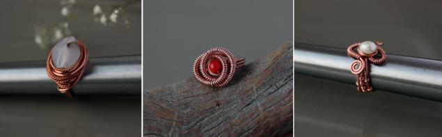 Кольца из проволоки в технике Wire Wrap (для начинающих), фото № 2
