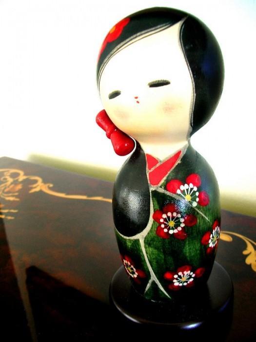 Японская кукла мастер класс сделай сам #5