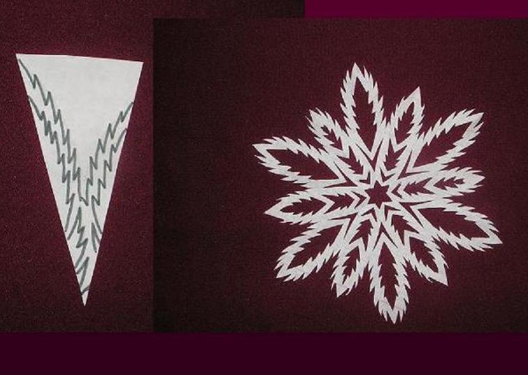 Снежинки своими руками фото из бумаги