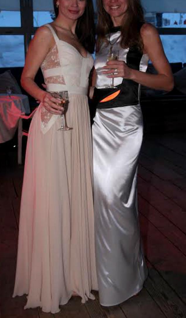 carolina herrera, дизайнерское платье, платье чёрно-белое