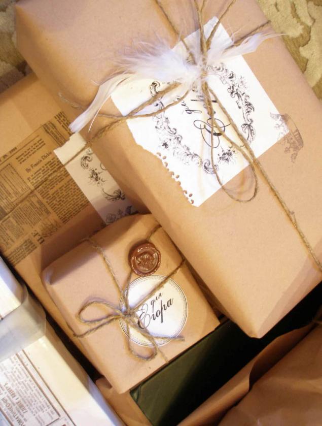Упаковка подарка деньги 91