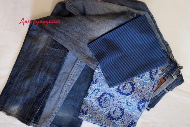 aa64ed23b006 Шьем новый рюкзак из старых джинсов – мастер-класс для начинающих и ...