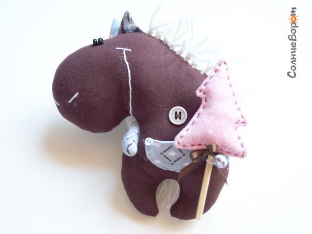 лошадь, солнцеворот, конь с крыльями, авторская выкройка