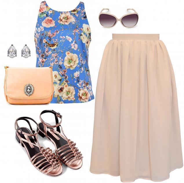 юбка, шифоновая юбка, шифон, юбка-пачка, юбка из шифона, свитшот, дизайнерская одежда, pavocreations, летняя одежда
