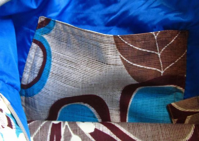 сумка из ткани, принт