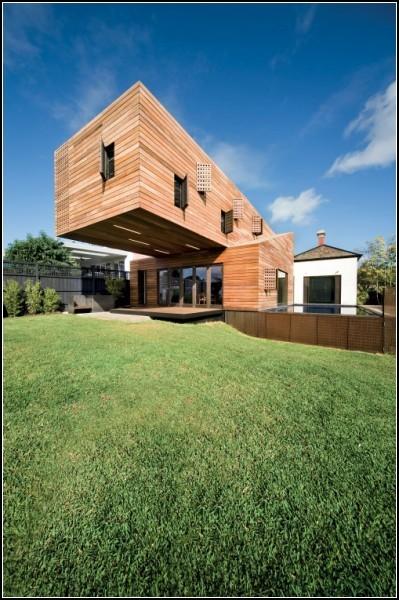 Троянский дом - необычное архитектурное решение от Jackson Clements Burrows