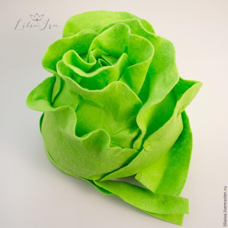 Шьем шапочку-капусту для детского капустника, фото № 12