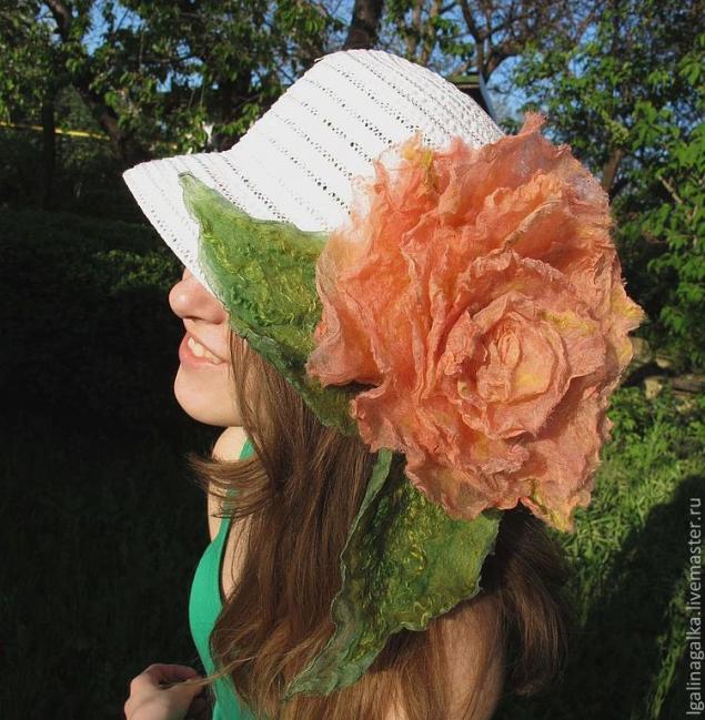 нуноваляние, цветок для интерьера