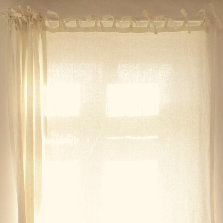 белый лен, уютный дом