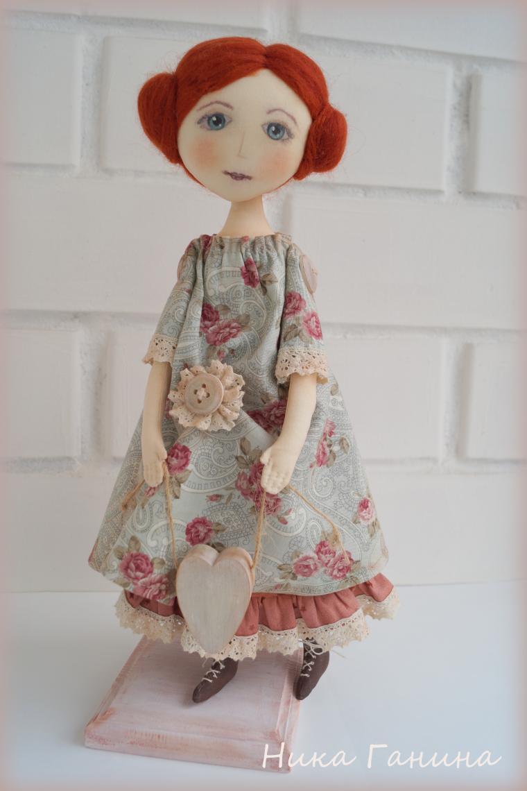 Куклы мастер класс текстильная кукла