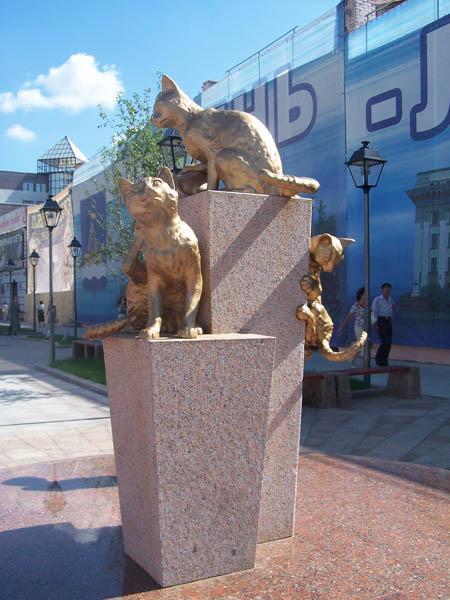 Памятники кошкам блокадного Ленинграда., фото № 4
